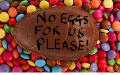 HERE'S HOW MANY EASTER EGGS I LET MY KIDS EAT..